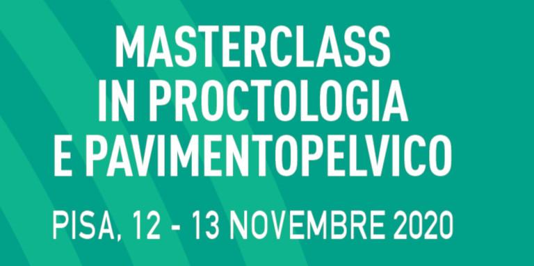PPFCC Masterclass Proctologia e Pavimento Pelvico 2020