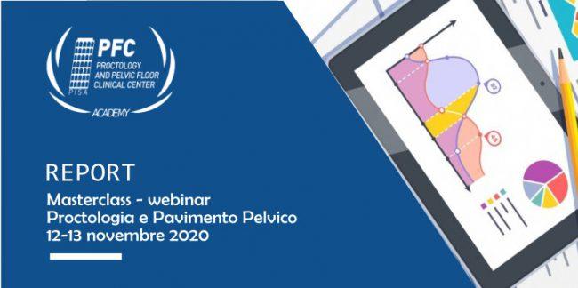 Report Masterclass webinar Proctologia e Pavimento Pelvico